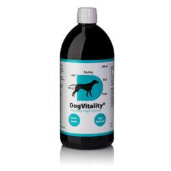 1000 ml DogVitality® med omega-3 og B-vitaminer – for pels, hud, poter og ledd. Nå med leversmak.